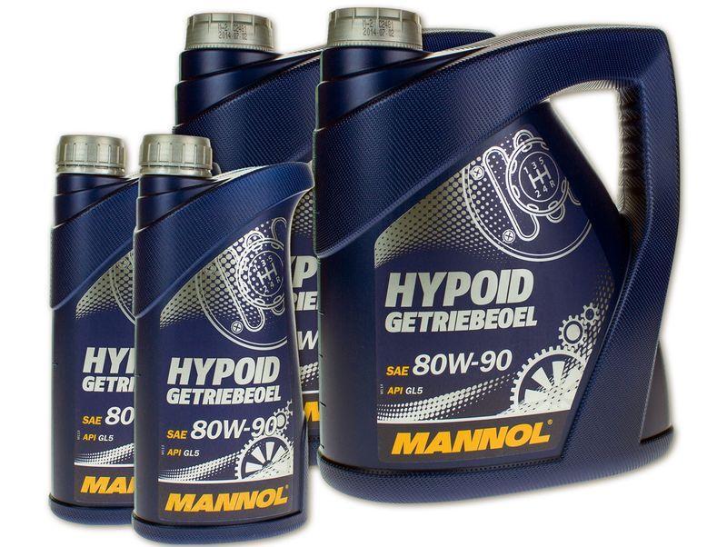 Трансмиссионные масла вязкостью 80W-90