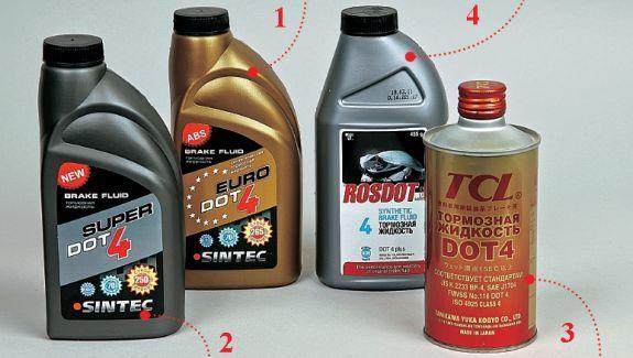 Экспертиза тормозных жидкостей DOT 4 - не кипятись! (За рулём)