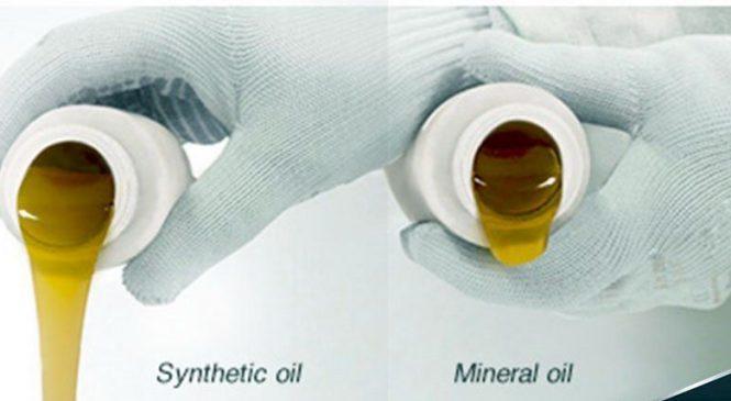 Отличия синтетических масел от минеральных