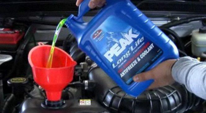 Куда уходит охлаждающая жидкость в автомобиле?