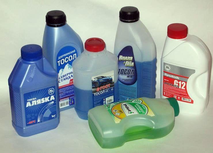 Тест охлаждающих жидкостей