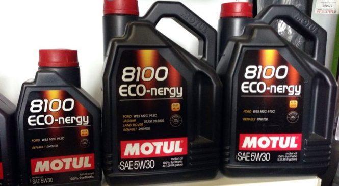 Motul 8100 Eco-nergy 5w30 одобрено для новых автомобилей Ford