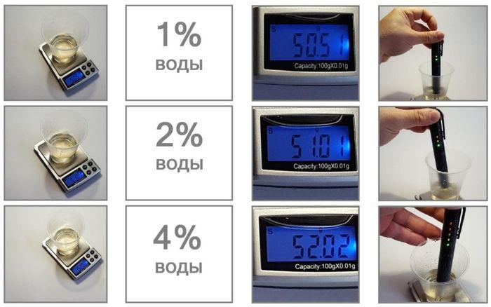 Тест карманного анализатора тормозной жидкости