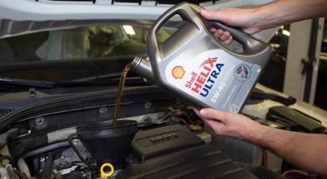 Тест моторного масла Shell Helix Ultra