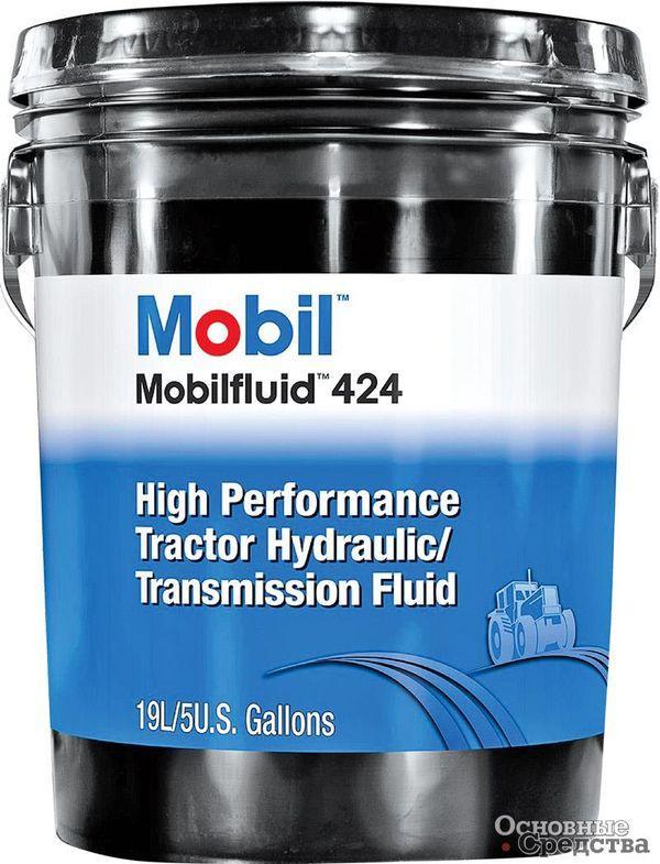 Универсальное трансмиссионно-гидравлическое синтетическое масло Mobil Mobilfluid 424 используется в механических тяжелонагруженных коробках передач, в мостах и гидравлических системах управления, в «мокрых» тормозах