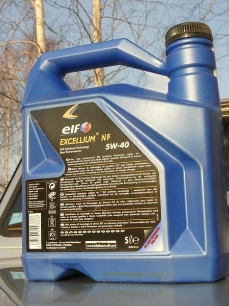 Тест масла Elf Excellium NF 5W-40