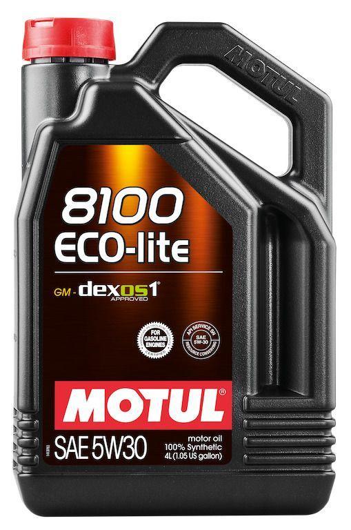 Обновленное масло Motul 8100 Eco-lite 5W30 получило одобрение концерна GM