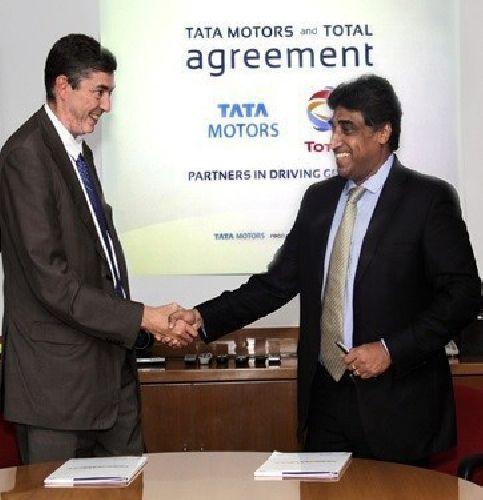 Tata Motors и Total Lubrifiants подписывают соглашение о глобальном партнерстве