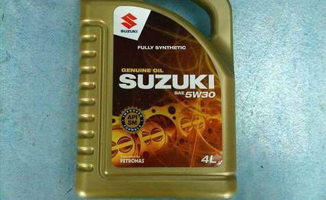Оригинальная линейка масел SUZUKI MOTOR OIL: уже у дилеров