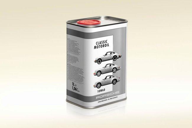 Porsche разработало масло для классики