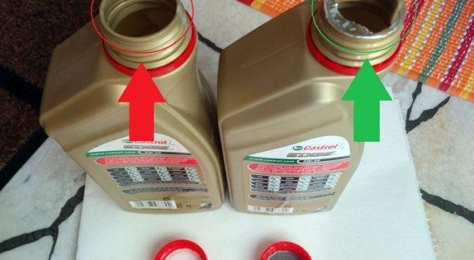 Моторные масла: как отличить подделку от оригинальной продукции