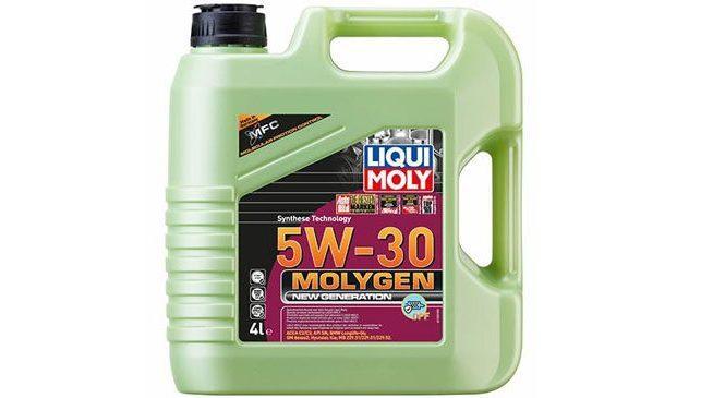 Liqui Moly представило новое НС-синтетическое моторное масло Liqui Moly Molygen New Generation DPF 5W-30