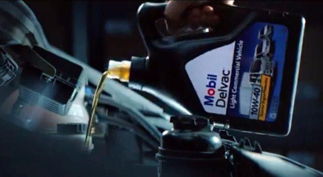 Стартовала рекламная кампания моторных масел Mobil Delvac