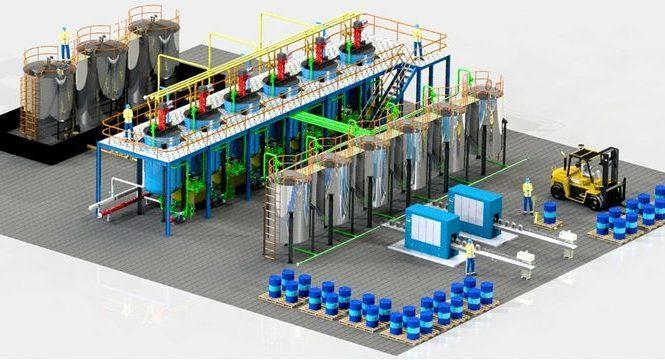 Открытие завода синтетических сложных эфиров в Айви