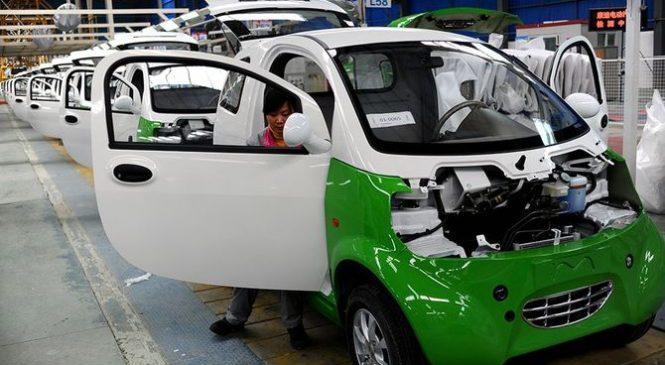 Продвижение в Китае автомобилей с альтернативной энергией сокращает потребление смазочных материалов