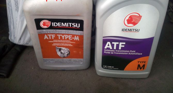 Idemitsu Type-M в разных канистрах