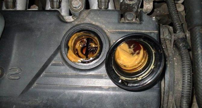 Почему двигатель стал «есть» масло